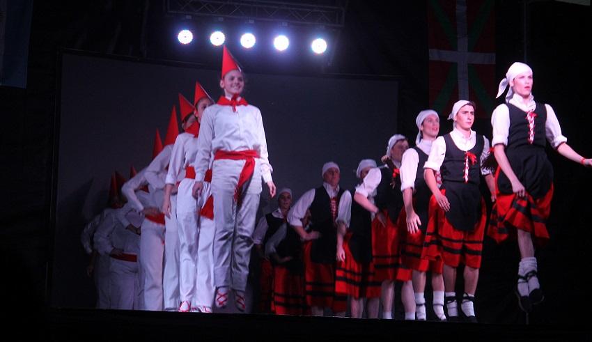 La Platako 2014ko Euskal Astean, dantzaldia