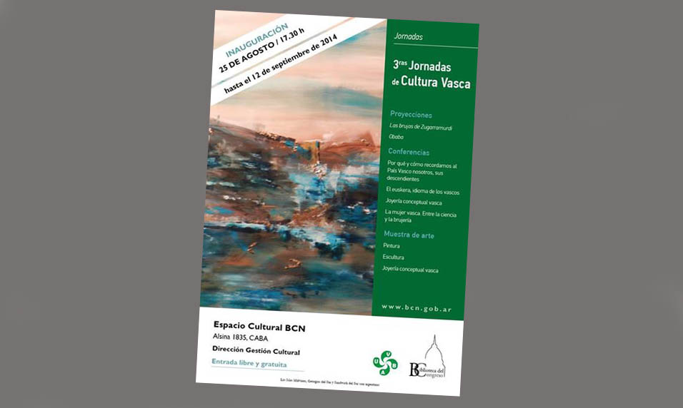 2014 III Basque Cultural Days