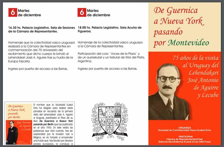 Agirre Lehendakaria Uruguain