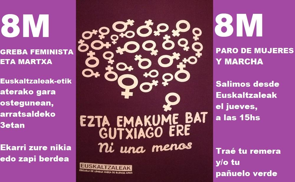 8M Euskaltzaleak-en
