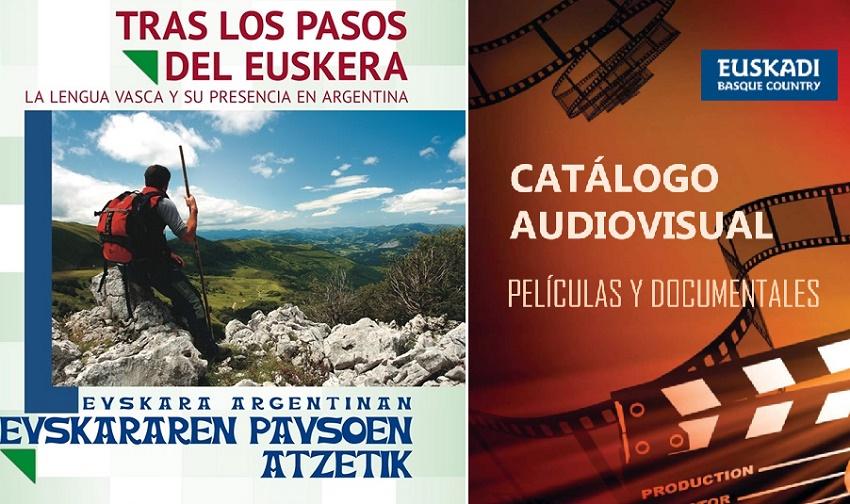 Euskadiren Argentina-Mercosurrerako Ordezkaritzak eskaintzen duen materiala