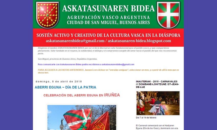 Askatasunaren Bidea Basque association in San Miguel