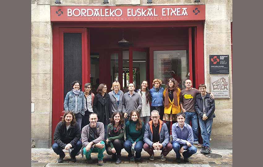 Meeting of Basque teachers from various European Euskal Etxeas in Bordeaux