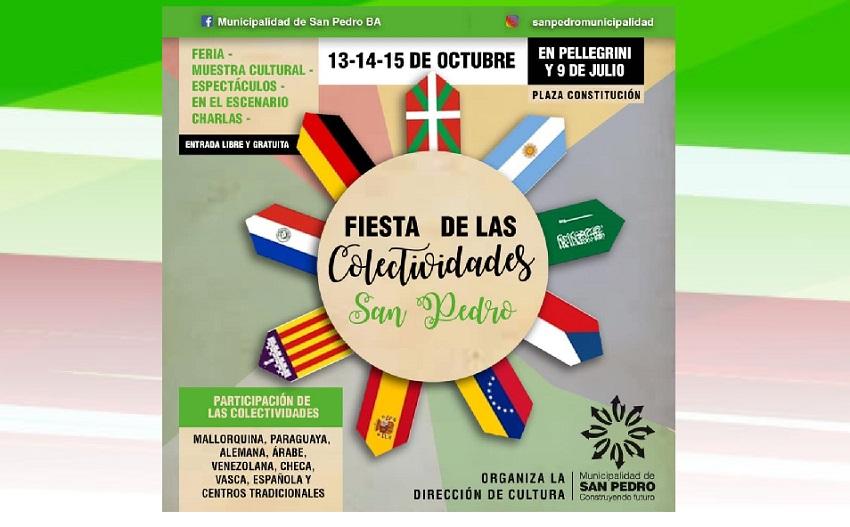 Fiesta Colectividades 2018 en San Pedro