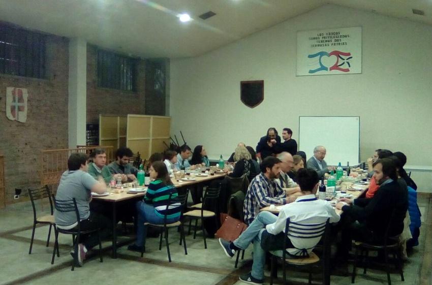 Eiken klusterreko ordezkariak Mendozan