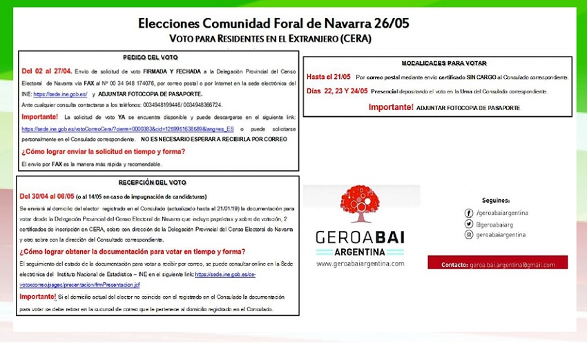 Information on how to vote in the May 26 elections