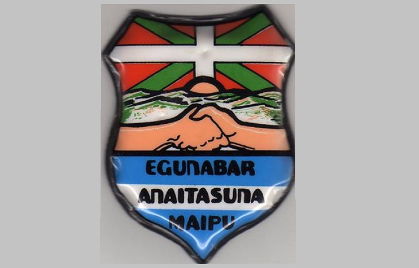 Escudo del Centro Vasco Anaitasuna de Maipú