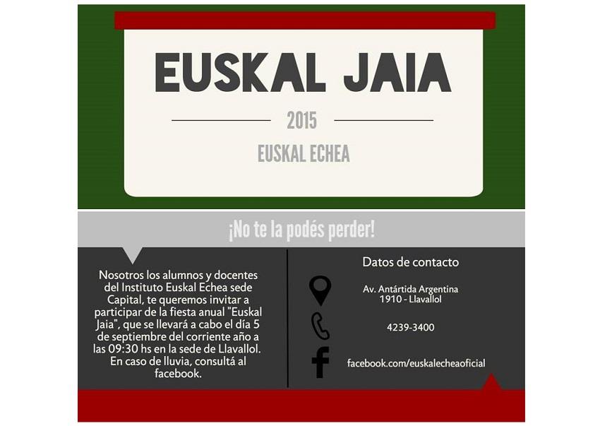 Euskal Jaia-Fiesta Vasca