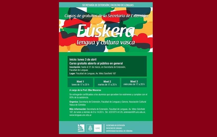 Euskara Klaseak Cordoban