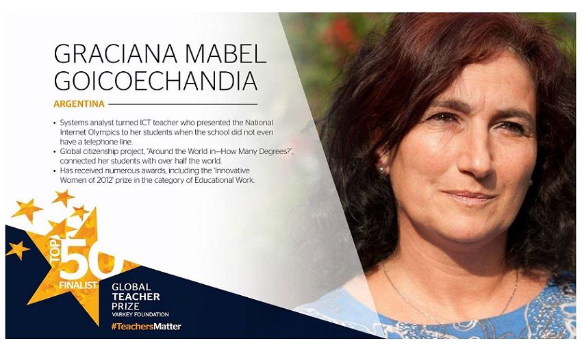 Graciana Goicoechandia ofreció el 10 de diciembre en el Hotel Unanue de Donostia una charla desde sus vivencias vascas y argentinas