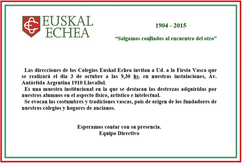 Llavallolgo Euskal Echea-ren 2015eko Euskal Jaia