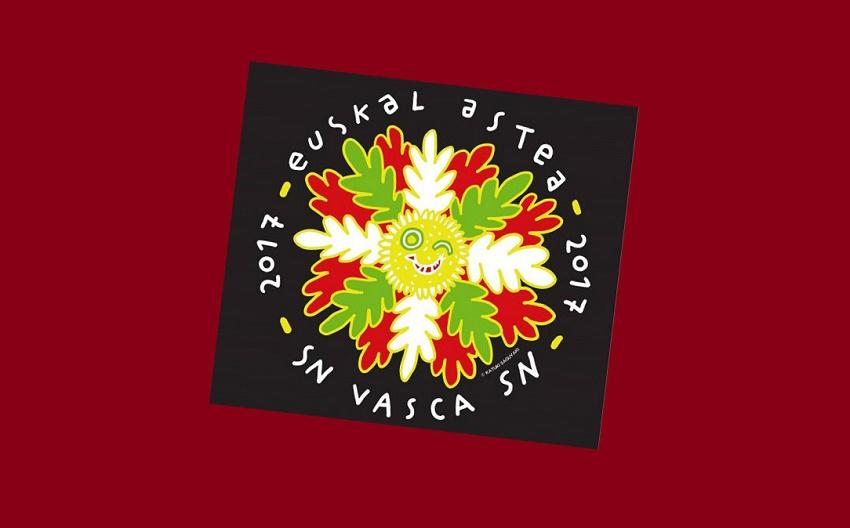 2017ko Euskal Aste Nazionalaren logotipoa