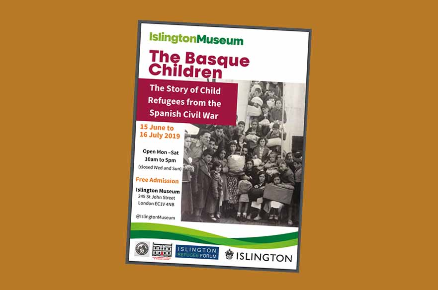 Exhibit Basque Children 37