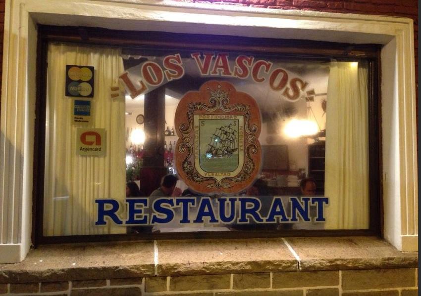Los Vascos jatetxea