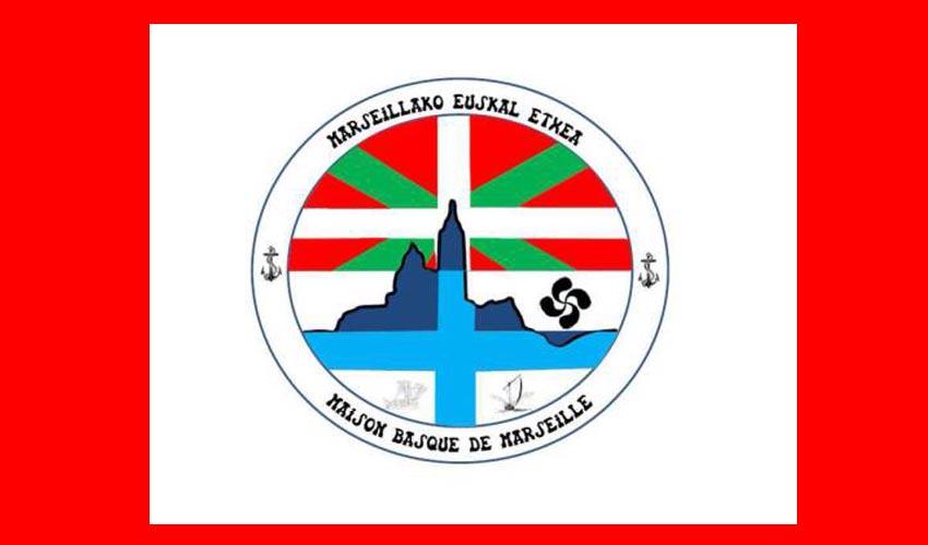 Marseillako Euskal Etxearen logoa
