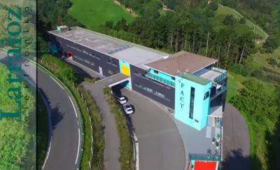 El Francisco Aristeguieta Centro Tecnológico (FACT) es el edificio que alberga en Zarautz a la empresa Larraioz Elektronika