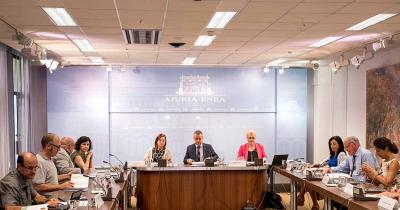 Etxepare Euskal Institutuaren Patronatuaren bilera atzo Gasteizen Urkullu lehendakaria buru