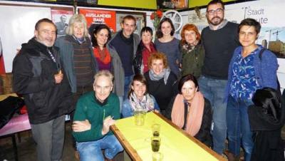 'Hurrengo geltokia' filma eman dute Berlinen joan den larunbatean bertako Euskal Etxearen eskutik (argazkia Cristina Mtz. Sacristán-Deia)