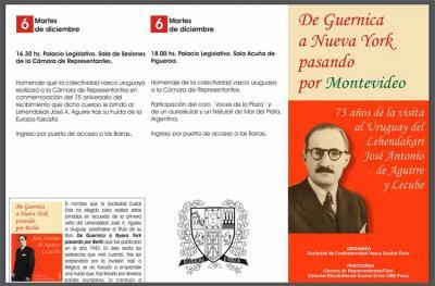 Montevideoko jardunaldiak abenduaren 2tik 6ra bitartean garatuko dira