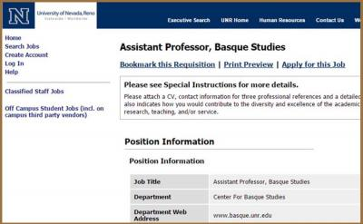 Details at the UNR webpage
