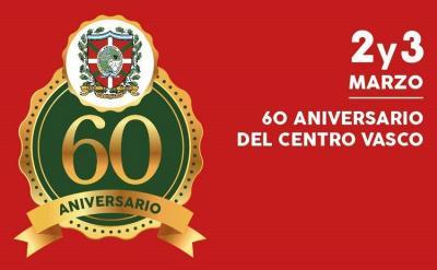 60th anniversary of the Euzko Alkartasuna Basque Association in Macachin