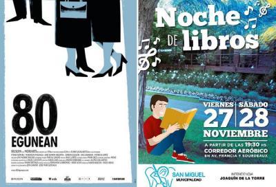 Askatasunaren Bidea in San Miguel invites everyone to the closing of its film series and Book Night