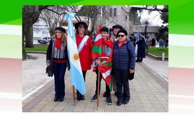 Independentziaren Eguneko ekintza, Gral. Belgrano herrian