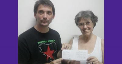 Aitor Alava eta María Elena Etcheverry artxiboko argazkia batean