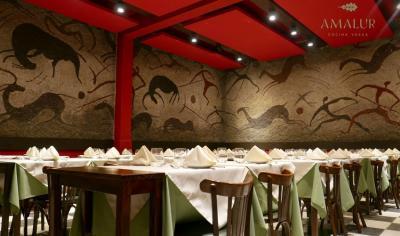 Restaurante 'Amalur' en el Laurak Bat porteño