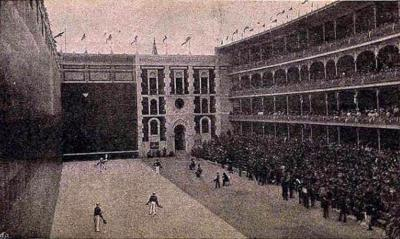 The Beti Jai Fronton in Madrid in its glory days