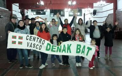 El Centro Denak Bat de Cañuelas también fue parte de la Cadena