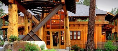 Cedar House Sport Hotel in Truckee, California house of the Stella Restaurant
