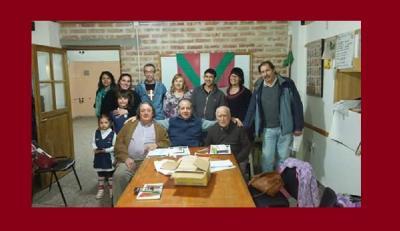 Board of directors of the Comahue Euskal Etxea