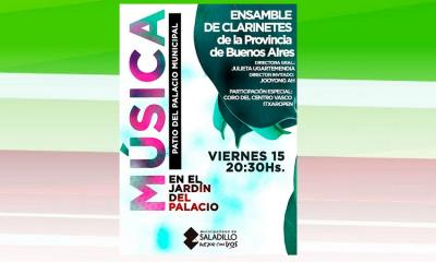 The Basque choir of Saladillo will perform with a trumpet ensemble