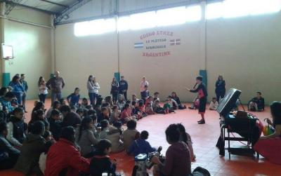 Celebration of Children's Day at the Euzko Etxea in La Plata