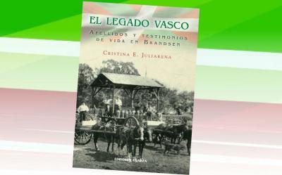 Cristina Juliarenaren 'El Legado Vasco' liburuaren azala