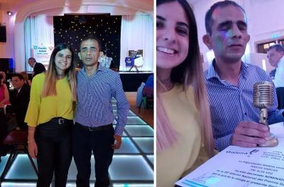 Lelio Sanchez y Magui Pastor Pulido, dos de los conductores de 'Raices Vascas-Euskal Sustraiak'