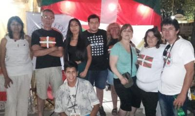 """Participation of the Comahue Basque Club at the """"Festival of the Confluence"""""""