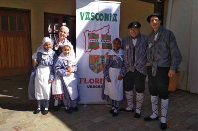 Primera Semana Vasca organizada en Florida, Uruguay por la agrupación local Vasconia Florida (foto  LAA)