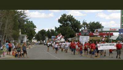 The Owyhee County Fair and Rodeo Parade on August 11th.  Great opportunity to get acquainted and share