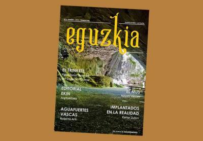 El número 5, correspondiente a marzo de 2019, de esta nueva etapa de la revista Eguzki de Euzko Etxea de La Plata
