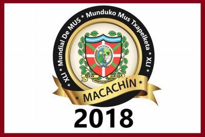2018ko Munduko Mus Txapelketaren logoa
