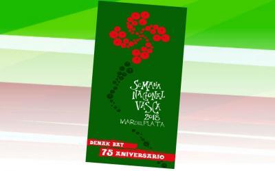 Logo de la Semana Nacional Vasca 2018 de Mar del Plata