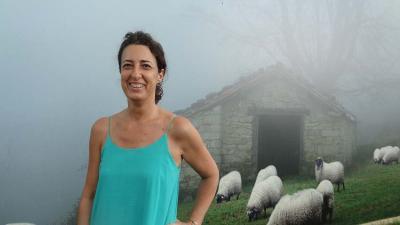 Euskadiko hainbat paisaia eta jarduera Washingtonen ibili dira uztail honetan. Irudian, Lorea Bilbao uztailaren 8an 'Smithsonian Folklife Festival'en (argazkia EuskalKultura.com)