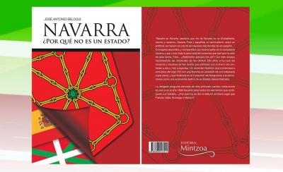 'Navarra ¿Por qué no es un estado?' liburuaren azala