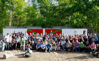 Photo of the New England Basque Club members at a recent event
