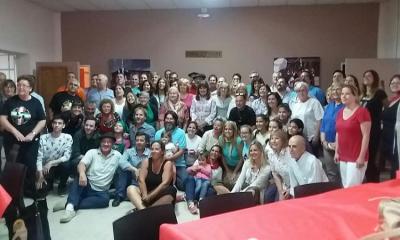 Encuentro de Centros Vascos organizado por FEVA el pasado mes de marzo en Olavarria