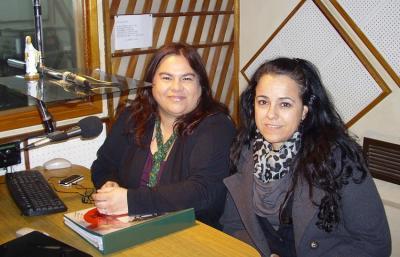 Laura Nobile eta Mariana Domine 'Euskaldunaren Hitza' irratsaioaren 2011ko denboraldian