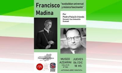 Aita Madinari buruzko hitzaldia La Platan