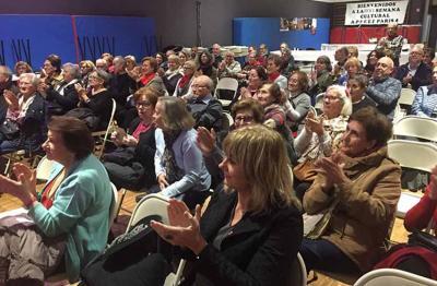 La consejera Ana Ollo fue invitada a la Semana Cultural este pasado fin de semana en París (foto GN-NG)